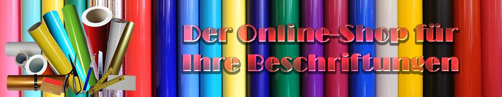 Der Online-Shop fuer Ihre Beschriftungen